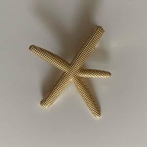 ASOS Starfish Gold Hair Clip